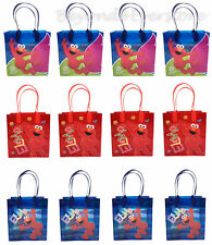 Nick Jr. Sesame Street Elmo Birthday Party Favors Goodie Bag 12pc Gift Set Bags!