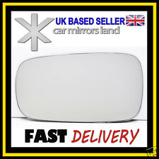 Left Passenger Side Wing Mirror Glass RENAULT MEGANE MK2 CONVEX 2002-2008