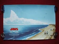 JAWS MONDO PHANTOM CITY ORIGINAL MOVIE POSTER ART PRINT A. PROOF 1975 HALLOWEEN