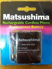 NEW! Matushima 600Mah 3.6V AA  Rechargeable Replacement Batteries