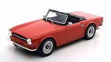LS Collectibles Triumph TR6 Red 1:18 LE of 150pcs Rare Find!*Nice!