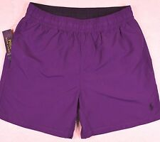 Polo Ralph Lauren Swim Shorts Swimming Trunks Squire Purple Size L Large NWT