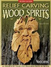 Relief Carving Wood Spirits : A Step-by-Step Guide for Releasing Faces in...