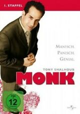 MONK-SEASON 1 - 4 DVD NEUWARE TONY SHALHOUB,BITTY SCHRAM,TED LEVINE