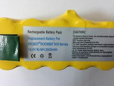 3500mAh CE certified Battery for iRobot Roomba all 500 600 700 series