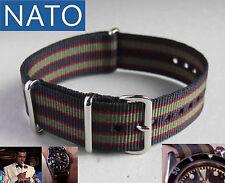 BRACELET MONTRE NATO 22mm (bond) dive mechanical chronograph military watch