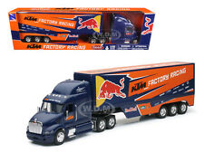 "PETERBILT KTM FACTORY RACING TEAM TRUCK ""RED BULL"" 1/32 MODEL BY NEW RAY 10693"
