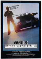 Good Guys Wear Black Poster 02 Metal Sign A4 12x8 Aluminium