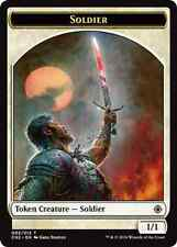 4X 1/1 Soldier Token (002/012) NM Conspiracy: Take the Crown MTG Magic Cards