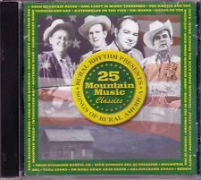 Mountain Music Classics SONGS OF RURAL AMERICA CD RITCHIE BROTHERS EDITH ROBERTS