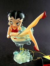 Collectable Betty Boop in Glass of Wine Christmas Ornament (C19)