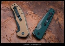 Carbon Fiber Pocket Clip 3 Hole for most factory and custom knives.  Innovation!