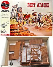 Airfix # 6703 - HO Fort Apache complete set - mint in original box with figures