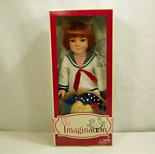 "TONNER-MY IMAGINATION 18"" PLAY DOLL- ""STARTER REDHEAD"",Englebreit Sailor Outfit"