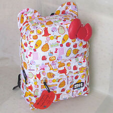 HelloKitty Loungefly  Luggage Travelling Backpacks School Book Bag 2017  New Bow