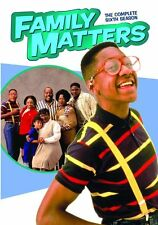 Family Matters: The Complete Sixth Season 6 (DVD, 2016, 3-Disc Set)