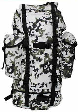 German Army Style (Bundeswehr) Combat Backpack - Snow Camo Backpack