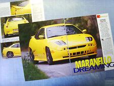 AUTO998-RITAGLIO/CLIPPING/NEWS-1998-FIAT COUPE' CADAMURO TURBO 16V - 3 fogli