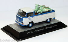 VW T2A PICK UP ZUNDAPP SERVICE with 2 ZUNDAPP BELLA 1/43 model PREMIUM CLASSIXXS