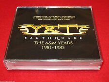 Y&T - Earthquake: The A&M Years 1981-1985 - 4 CD Box Set