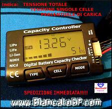 Tester capacità batterie litio LiPo LiFe Li-Ion NiMh NiCd cod.EV-DBCC imax b6 DC
