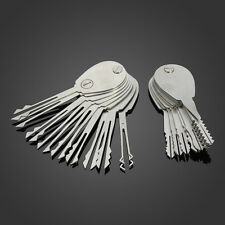 20psc Foldable Car Lock Opener Double Sided Lock Pick Set Locksmith Tools