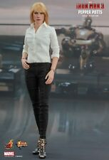 IRON MAN 3 - Pepper Potts 1/6th Scale Action Figure (Hot Toys) #NEW