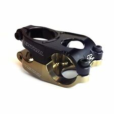 Renthal Duo MTB Mountain Bike Bicycle Stem 10 degree 31.8 x 50mm Black/Gold