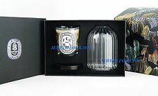 DIPTYQUE FRANCE HOLIDAY SET WOOD FIRE LARGE 6,5 OZ CANDLE & PHOTOPHORE NEW