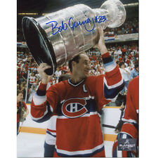 Bob Gainey Montreal Canadiens Signed 8X10 Stanley Cup Photo
