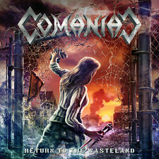 COMANIAC - Return to the Wasteland (NEW*SUI THRASH METAL*KREATOR*EXODUS*CORONER)