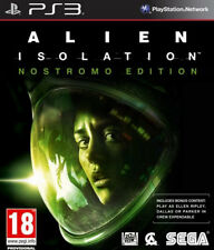Alien: Isolation Nostromo Edition (PS3 2014) NEW! Survival Horror PlayStation 3