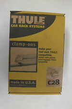 "Thule C28 Clamp-Ons Connect Thule Accessories to Existing Bars 3/4"" x 1 3/4"" NEW"