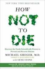 How Not to Die by Michael Greger MD with Gene Stone Hardcover Book WT74019
