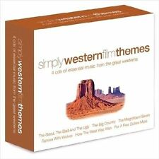 Simply Western Film Themes by Various Artists (CD, Aug-2010, Union Square Music)