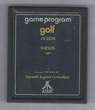 ATARI 2600 Golf vintage game Cart
