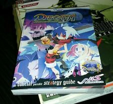 DISGAEA AFTERNOON AND HOUR OF DARKNESS STRATEGY GUIDE BOOK 2 IN 1 BRAND NEW