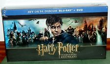 HARRY POTTER-COLECCION HOGWARTS-31 DISCOS-BLU-RAY+DVD+3D+EXTENDIDAS-NUEVO-NEW