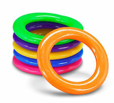 24 Plastic Cane Rings Carnival SODA Bottle RING TOSS GAME Birthday Party
