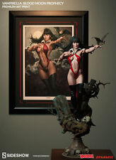 Sideshow Exclusive VAMPIRELLA Stanley ARTGERM Lau SIGNED Framed Art Print SEALED