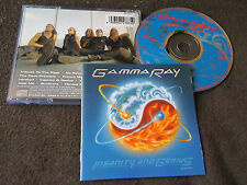 GAMMA RAY / insanity and genius /JAPAN LTD CD