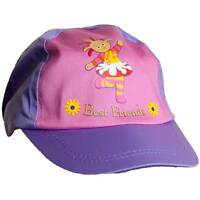 Girls In The Night Garden Upsy Daisy Sun Hat Peak Cap Pink Lilac 1-3yrs