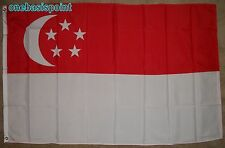 3'x5' SINGAPORE FLAG OUTDOOR BANNER SOUTHEAST ASIAN REPUBLIC OF COUNTRY CITY 3X5