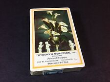 Vintage Thybony & Bengtson Paint and Wallpaper Chicago Playing cards 1940-1965