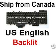 Dell Precision M6400 M6500 Keyboard - Backlit - US English - 0F759c NSK-DE101