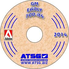 ATSG Chevy GM TH700R4 700R4 4L60 Transmission Rebuild Instruction Service Manual