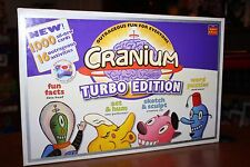 Cranium Turbo Edition -Outrageous Fun For Everyone! 1000 New Cards 16 Activities