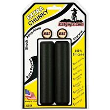 EXTRA CHUNKY BLACK ESI 34mm Silicone MTB Bike Grips Shock Absorbing 130mm