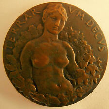 FRANCE1904- SAMF- CONSERVATION DES FORETS -LIMITED NUMBERED  BRONZE -VERY RARE