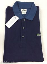 Lacoste Men's Polo Shirt Brand NWT Navy Blue Philipines Blue Size EU 6 US L